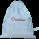 sac à doudou personnalisable avec un texte brodé