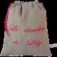 sac à doudou personnalisable
