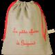 sac à doudou personnalisable en lin